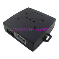 Wholesale Car Rfid Card - Wholesale 10 pcs lot RFID Car Alarm Release Engine Automatically Good Quality Push Button And Transponder Card Learning Code Alarm System