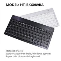 Wholesale Ipad4 Keyboards - Wholesale-Super Thin Bluetooth Wireless Keyboard Mechanical Teclado Gaming Keypad for ipad air ipad4 ipad mini and android windows System