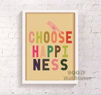 Wholesale Canvas Wall Art Quote - Colorful Quote Canvas Art Print Poster, Wall Pictures For child Room Home Decoration Print On Canvas, Frame not include 123