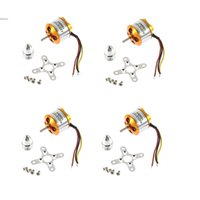 Wholesale Quadcopter Outrunner Motors - New 4x A2212 1000Kv Brushless Outrunner Motor For Airplane Aircraft F450 F550 X525 Quadcopter 66
