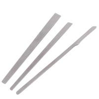 Wholesale Cuticle Knife - Wholesale-Stainless Steel Pedicure knife Manicure Cuticle Pusher Cut Remover Clean Exfoliate repair calluses tool Clippers Trimmers