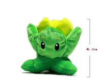 6.5inch Cute Plant Vs Zombies Series Plant Cabbage Plush Toy Doll, 1pcs / pack