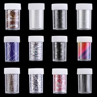 Wholesale Nails Transfer Foil - 1 x Roll Fashion Nail Art Transfer Wrap Foil Sticker Decal Decoration DIY