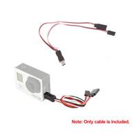 Wholesale Gopro Av Cable - USB to AV Video Output & 5V DC Power BEC Input Cable FPV for Gopro Hero 3 order<$18no track