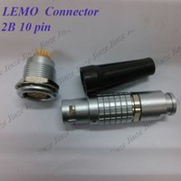 Connettore LEMO FGG.2B.310.CLAD ** Z, connettore EGG.2B.310.CLL LEMO 2B, connettore a 10 pin