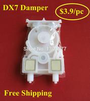 Wholesale Print Head For Epson - Wholesale- 10 pcs lot WIT-COLOR 9200 9100 Printer ink damper , Dumper for Epson DX7 Print head , Free Shipping +2 pcs Cotton Swab Gift