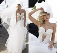 Wholesale Tulle Sweetheart Beading Wedding Dress - Sexy Beading Sweetheart Wedding Dresses 2016 White New Hollow Front Backless Tulle Bridal Gowns customized Wedding Dresses Vestidos De Festa