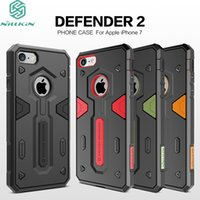 Wholesale Nillkin Cover Case - For Apple &7 Plus Origin Iphone 7 Case al Nillkin Defender 2 Shockproof Armour Slim Cases Rugged Shield Back Covers