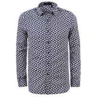 Wholesale Cheap Designer Shirts Men - Regular Fit Men Shirts Long Sleeve Designer Shirts Turn-Down Collar 2016 Fashion Shirts Hot Sale Cheap Price Mens Clothes