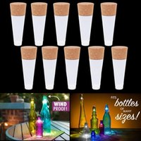 Wholesale Glow Party Cups - 2018 Led Night Lights USB Charging Cork Plug LED Colorful Colorful Wine Bottle Plug Light Creative LED Glowing Wine Bottle Light