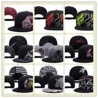 Wholesale Cool Caps For Women - Cool Metal Snapback Hat Thousands Snap Back Hat For Men Summer Baseball Cap, Cheap Fox Hip Hop Hat Adjustable Women Baseball Cap
