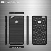 Wholesale Lg 4x Case - Carbon Fiber Brushed Soft TPU Phone Case For Redmi Note 4x 4Shockproof Hybrid Armor Cellphone Back Cover For Redmi 4 Xiaomi 6