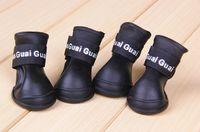 zapato protector del perro al por mayor-2017 nuevo estilo Lefdy News BOTAS PARA PERROS Impermeable de Protección de Gatos Para Mascotas Zapatos Botines de Colores Caramelo