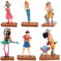 Wholesale Nami One Piece New Age - J.G Chen! 2015New Free Shipping One Piece Anime Monkey D.Luffy Robin Nami Usopp Chopper PVC Action Figure the New World Toy 16CM
