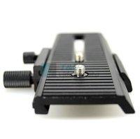 "Wholesale Macro Tripod Slider - Wholesale-2 Way Macro Shot Focus Rail Slider LP-01 Tripod Head for Canon Nikon Camera DSLR 1 4"" Screw Focusing Movable Free Shipping"