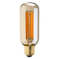Wholesale Vintage Bedroom Styles - Vintage LED Filament Light Bulb,6W 2200K,Gold Tint,Edison T45 Tubular Style,Decorative Lighting,Dimmable