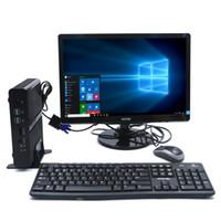 Wholesale mini motherboards resale online - 2017 Fanless Mini Computers V Intel Core i7 U Barebone motherboard Gigabit Lan HDMI Win10