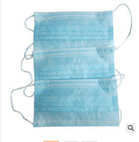 Wholesale disposable packing box for sale - EMS Paper Box Packing Non Woven Material with Earmuff Surgical Mouth Mask Disposable Face Mask