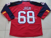 Wholesale Cheap Stitched Nhl Jerseys - 2016 CHEAP WHOLESALE HIGH QUALITY JAROMIR JAGR JRESEY MENS NHL FLORIDA PANTHERS RED HOME PREMIER STITCHED HOCKEY JERSEYS