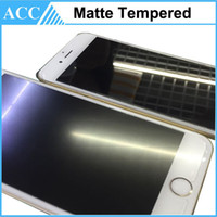 Wholesale Note3 Screen Protector - Anti-Glare Matte Tempered Glass 0.3mm Screen Guard Protector Anti-Shatter Film For iPhone5S 6 6+ S5 S6 A5 A7 Note3 4 100pcs