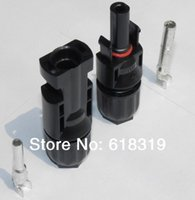 Wholesale Pv Solar Cells - 25 years quality warranty 5 pairs TUV IP67 PV MC4 MC4 Solar cell connector ,free shipping by post