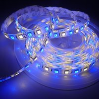 Wholesale silica tubes - 16.4ft 5M 5050 SMD RGB White LED Flexible Strip RGBW RGBWW LED Light Strip 60leds M 300LEDS Waterproof Tube Silica 12V Christmas Light