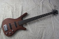 Wholesale Factory Top quality W Corvette Standard String Bass Guitar in brown