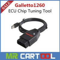 Wholesale Galletto Usb - Wholesale PriceGalletto 1260 ECU Chip Tuning Tool EOBD OBD2 OBDII Flasher Galletto 1260 ECU Flasher ECU flash tool Remap Free shipping