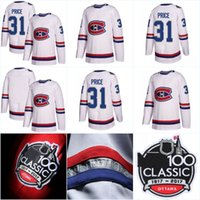 Wholesale K Dryer - 100 Classic Authentic Player Jersey Montreal Canadiens 31 Carey Price 11 Brendan Gallagher 27 Alex Galchenyuk 67 Pacioretty 76 P K Subban