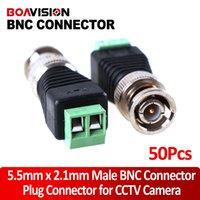Wholesale Coax Cat5 Video Balun - Coax CAT5 To Camera CCTV BNC Video Balun BNC Connector 50pcs lot
