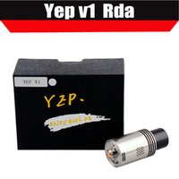 Original Yep V1 RDA Kit atomiseur Plus récent Design Tripost Rebuidable Atomizer vs légion mod atomiseur legion rda atomiseur ATB160