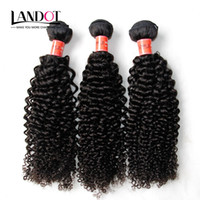 Wholesale jerry curl weave extensions human hair for sale - Brazilian Curly Human Hair Weaves Bundles Unprocessed A Peruvian Malaysian Indian Cambodian Mongolian Jerry Kinky Curls Hair Extensions