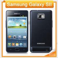 Wholesale Galaxy Sii - i9100 Unlocked Original samsung GALAXY SII S2 I9100 cell phone Android 2.3 Wi-Fi GPS 8.0MP camera Dual Core 4.3'' Refurbished