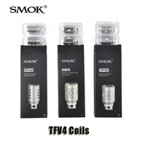 Wholesale Core Air - Authentic Smok TF-Q4 TF-T3 TF-S6 TF-T4 TF-T8 TF-Ti TC Coils Head TF-STC2 TF-CLP2 TF-N2 Standard Air Core For TFV4 Mini Tanks