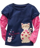 Wholesale Top Frocks - Girls tshirts jumpers boys tees shirts cotton t-shirts sweatshirts frocks outfits blouses tops 6 p l