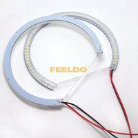 Wholesale Bmw E34 Ring - 3-Color 60SMD-3528 LED Angel Eyes Halo Ring Daytime Running Light DRL For BMW E30 E32 E34 SKU#:4746