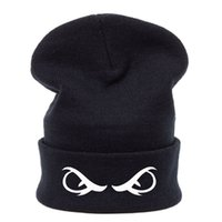 Wholesale Neff Knit - mixed Winter Eyes Beanies Hats Unisex Knitted Caps Neff Beanie Bboy Beanies Hiphop Fashion Hats Basketball fans caps