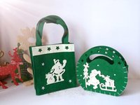 Reusable Non Woven Gift Baskets Bags Environmental Friendly Shopping Bags Gift Packing Handbags For Children Festival Accessories Home Deco