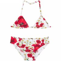 Wholesale Summer Baby Girl Bathing Suits - Wl Monsoon Girls Bikini Baby Girl Swimwear 2 Pieces 2016 Brand Summer Girls Bathing Suits Toddler Swimwear Kids Print Girls Swimsuit