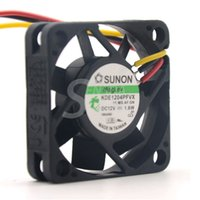 Wholesale Wholesale Computer Servers - Sunon fan KDE1204PFVX 40*40*10 mm 12V 1.8W with a 3-wire switch server inverter