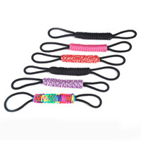 Wholesale cup holders adjustable for sale - Group buy Tumbler Holder Drinking Accessories Adjustable For Hand Woven Parachute Rope Cup Handle Colourful Easy To Carry cs C R