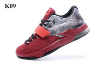 Wholesale Kd Cheap Price - New 2015 Kevin Durant KD 7 Basketball Shoes For Men KD7 Sports Sneakers Cheap Athletic Best price KD Basketball Shoes US7-12