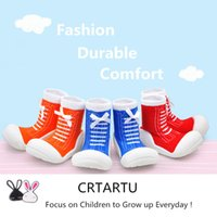 Wholesale Black Shoe Baby Socks - Wholesale-Free shipping 2 pairs 2015 new attipas baby shoes toddler socks toddler soft shoes sport baby moccasins outsole First Walkers