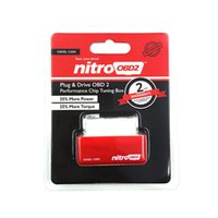 Wholesale Performance Citroen - 2015 New Arrival NitroOBD2 Chip Tuning Box Nitro OBD2 Performance Plug and Drive OBD2 Chip Tuning Works For Diesel Retail Box