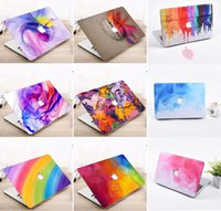 """Wholesale Notebook Shell - Laptop Notebook Hard Shell Case Keyboard Cover Fit Apple Macbook Pro   Air   Retina 12 13 15"""" Air 11 13""""inch Touch Bar 2017"""