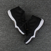 Air Retro 11 GG Heiress Black Stingray Metallic Gold PRM Mulheres Men Basketball Shoes Sneakers Girls Boy Retro 11s Basket Ball Sport Trainers