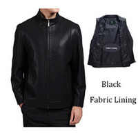 Wholesale Septwolves Free Shipping - Fall-SEPTWOLVES New 2016 Autumn and Winter Casual Jacket Men Second Layer Leather Jacket Man Jackets Free Shipping