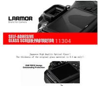 Wholesale Ggs Lcd Protector - Wholesale-camera 10pcs LARMOR GGS Self-Adhesive Optical Glass LCD Screen Protector for nikon D810