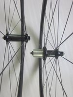 Wholesale Rear Hub 24h - light 38mm tubular road bike wheels 20 24h Powerway R36 bike hub pillar super light 1420 aero spokes 3k matte carbon bike wheelset w  gift