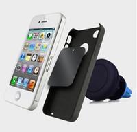 mini iphone telefon zum verkauf großhandel-Schlussverkauf! Magnetischer Auto-Zellen-mobiler intelligenter Telefon-Halter Mini-Luft-Entlüftungsöffnungs-Berg Handfree Magnethalter für Mobiltelefon iPhone Samsung